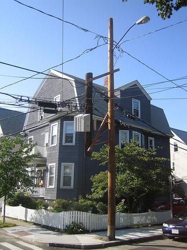 Strange pole?